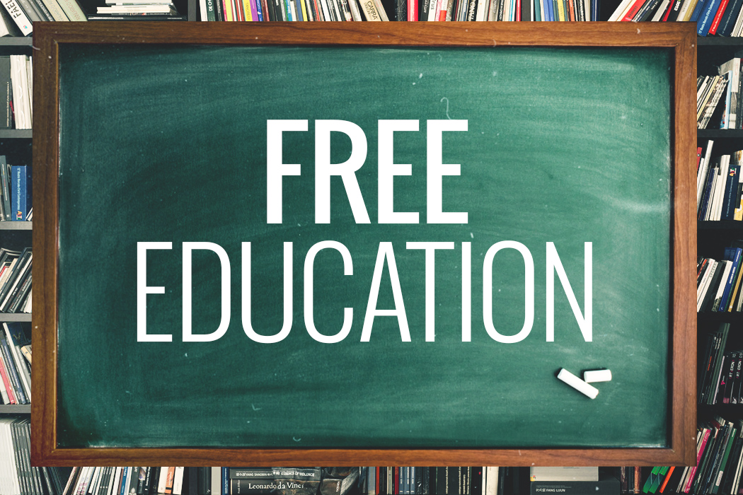 Countries with free education by MyMathDone