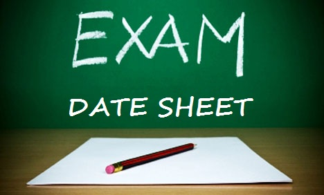 Abbottabad Board 2017 matric exam date sheet